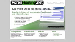 ForenHosting.net - Design